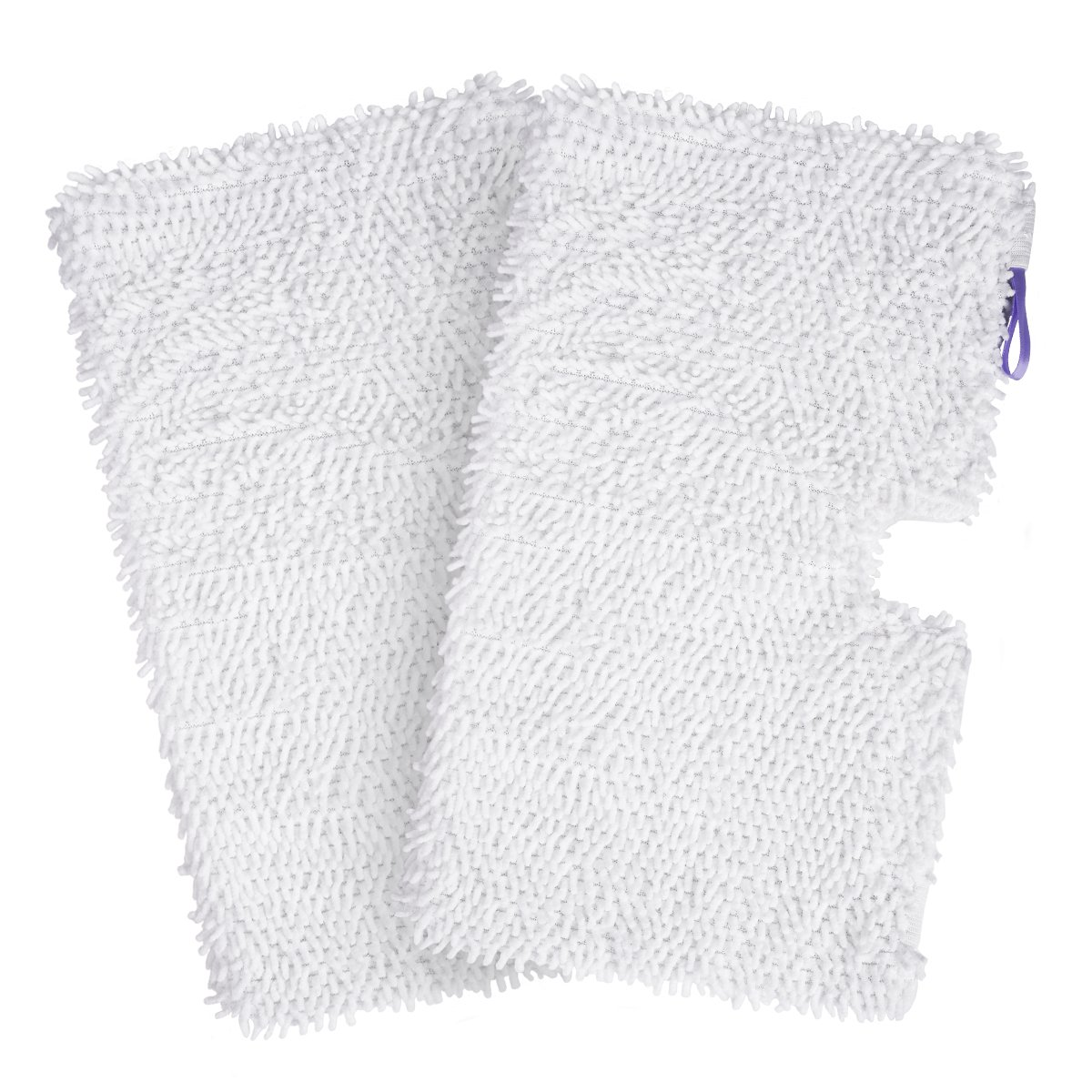 2 Pack Washable Cleaning Pads Household Microfiber Replacement Cleaning Pads for Shark Steam Pocket Mops S3500 Series S3501 S3601 S3550 S3901 S3801 SE450 Ordekcity Shark Steam Mop Pad