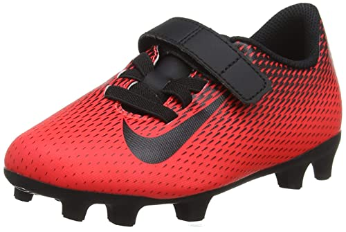 Nike JR Bravata II (V) FG, Zapatillas de Fútbol Unisex para Niños, Rojo (Bright Crimson/Black 601), 33 EU: Amazon.es: Zapatos y complementos