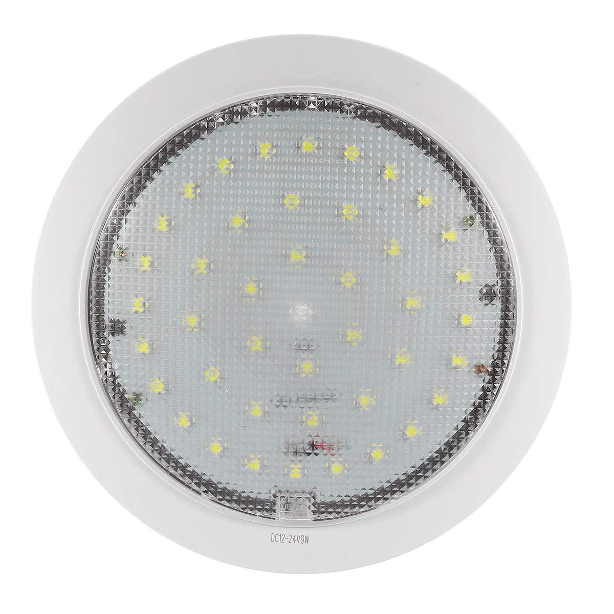 Lámpara de techo LED de 12 V-24 V 5050 9 W para caravana ...