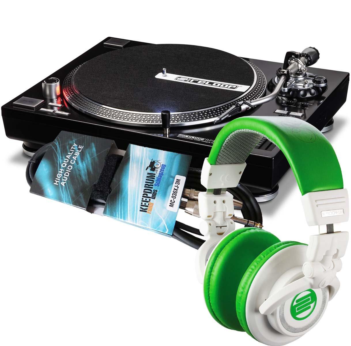 Reloop RP-7000 Tocadiscos DJ-Tocadiscos BK + RPH-10 Mint ...