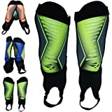 Rawxy Soccer Shinguards with Ankle Protection...