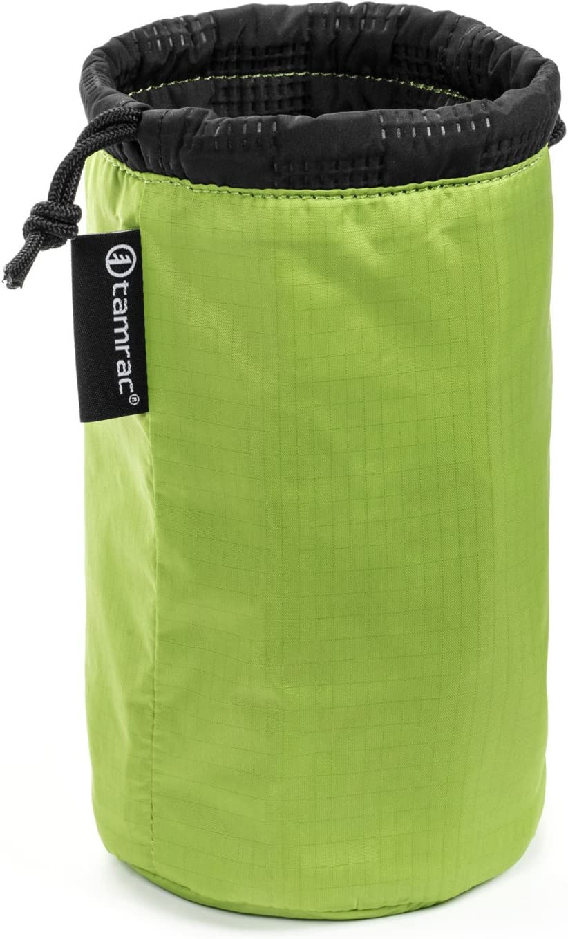 Drawstring Tamrac Goblin Lens Pouch 5.3  Lens Bag Easy-to-Access Protection Kiwi Quilted