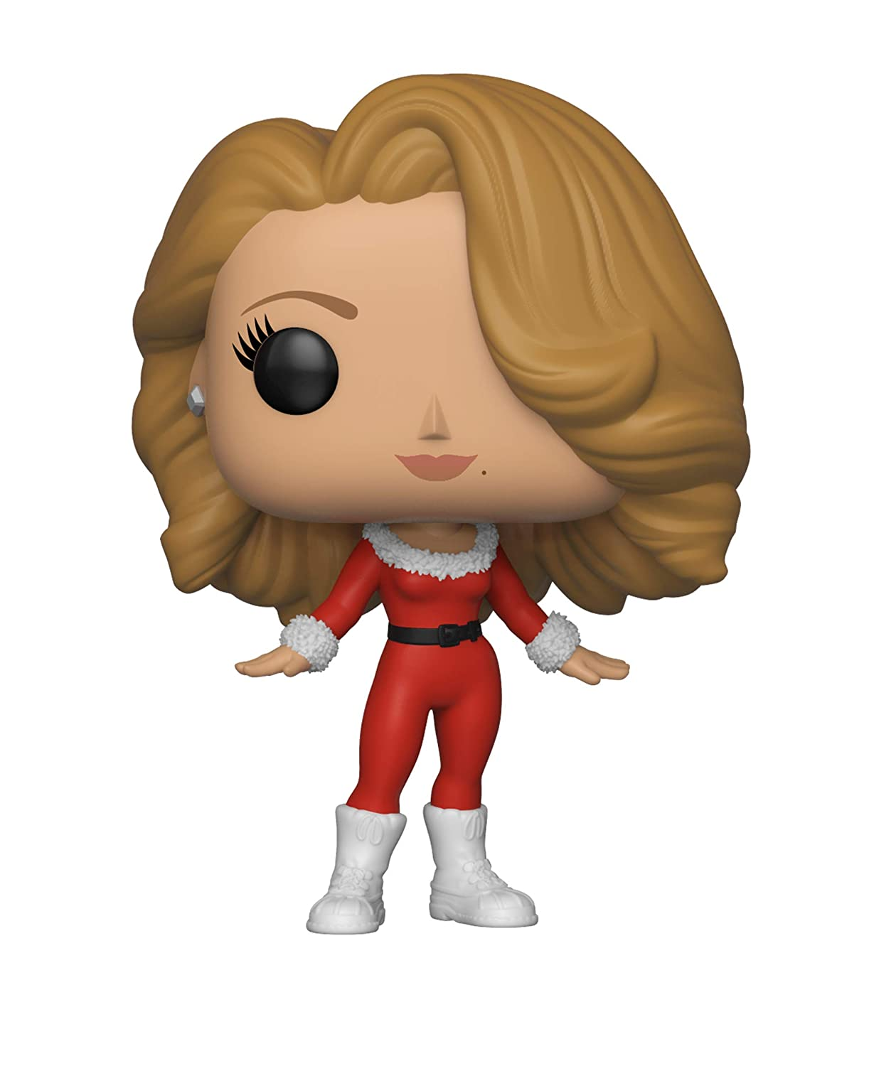 Funko Pop Rocks: Music-Mariah Carey Christmas Collectible Figure, Multicolor 33433