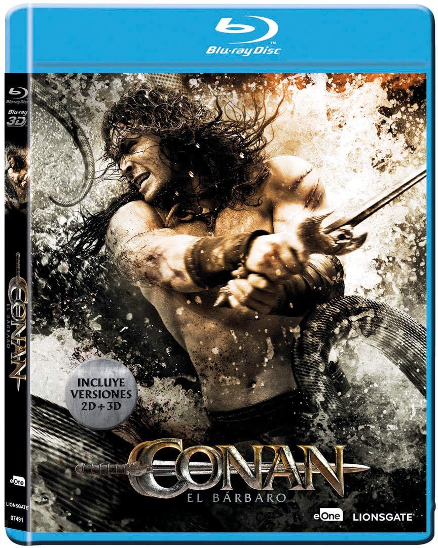 Conan, El Barbaro Blu-Ray + Blu-Ray 3d [Blu-ray]