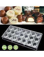 Jeteven Molde de Chocolate Molde de Caramelos para DIY Jalea Dulce Bandeja Herramienta Tridimensional