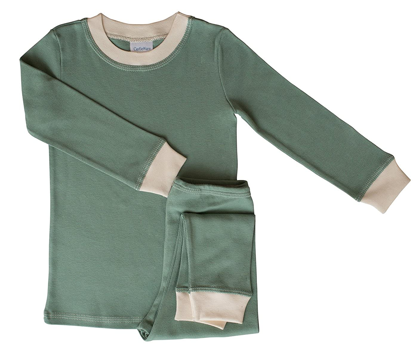 b326f639a Amazon.com  CastleWare Baby Pajama Sets - Organic Cotton Rib Knit ...