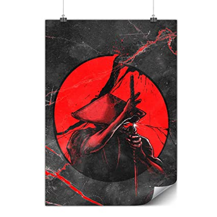 Amazon.com: Guerrero japonés Samurai Sol Mate/brillante ...