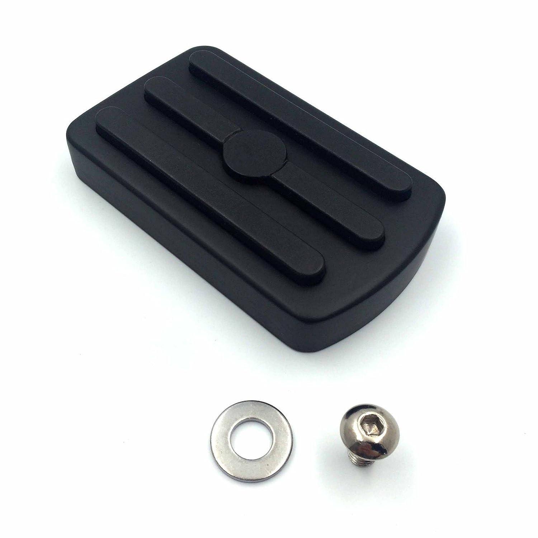 Black Hart *DRILLED /& SLOTTED* Brake Rotors FRONT+REAR KIT Ceramic Pads C2039