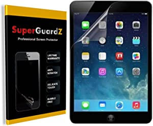 [3-Pack] For Apple iPad 9.7 (2018 & 2017 Release) 6th & 5th Generation - SuperGuardZ Screen Protector [Lifetime Replacement], Anti-Glare, Matte, Anti-Fingerprint, Anti-Scratch, Anti-Bubble