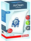 Miele AIR CLEAN GN Replacement Dustbags (4 AirClean FilterBags, 1 motor protection filter, 1 AirClean Filter)