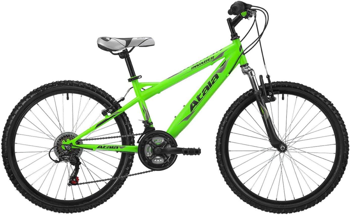 ATALA 2019 - Bicicleta de montaña para niño de 24 Pulgadas, 18 V ...