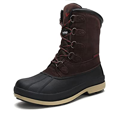 Men's nortiv8 170390-M Insulated Waterproof Work Snow Boots