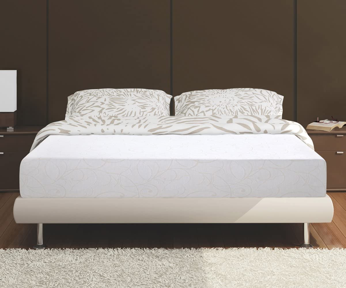 Olee Sleep Bed Mattress Conventional, King, White