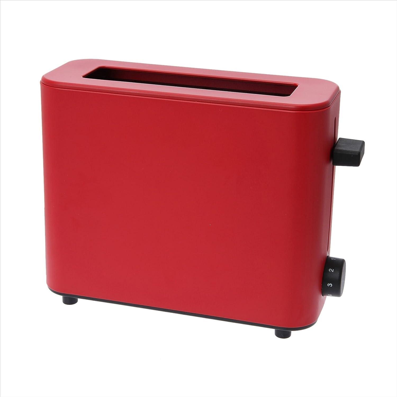 ± 0 (PLUS MINUS ZERO) toaster XKT-V030 (R) (Red)