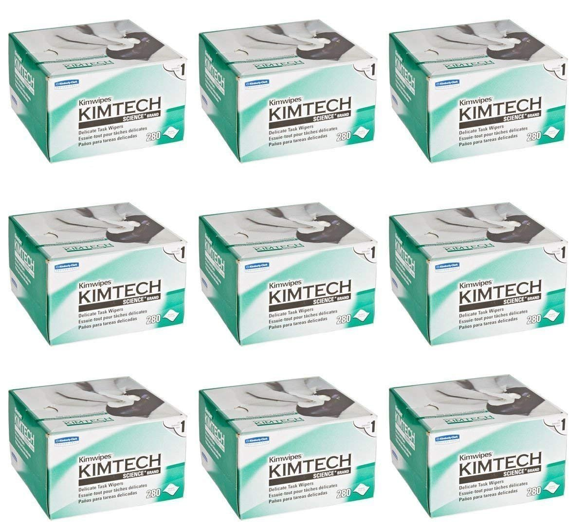 Kimberly-Clark Professional. Science KimWipes Delicate Task Wipers (9 Pack)