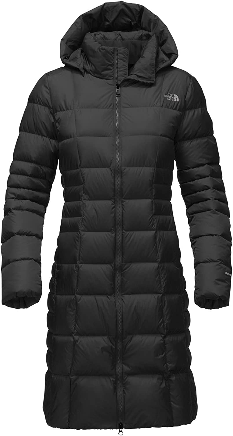The North Face Womens Transit Down Jacket Size Medium Parka Blue Green NEW