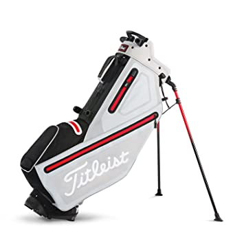 1c83f0b80c Titleist Players 4 StaDry Stand Bag Microchip/Black/Red, Stand Bags -  Amazon Canada