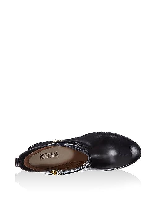 Michael Kors Botines Ryan Ankle Boot Negro EU 39.5 (US 9): Amazon.es: Zapatos y complementos