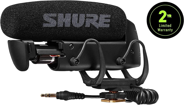 Video Recording Camera Camcorder Stereo Condenser Unidirectional Microphone V2O8