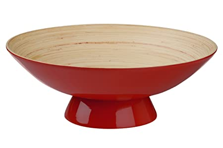 Spun Bamboo Kyoto Bowl Red