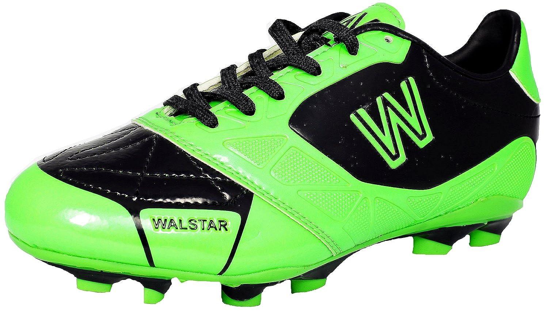 walstar Kidサッカー靴Worldcup Finalグリーンブラック B00EIVXIGK 9K