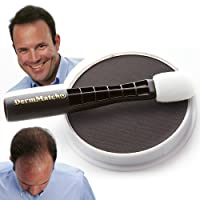 DermMatch Waterproof Hair Loss Concealer. Naturally Thicker Than Hair Fibers & Spray...
