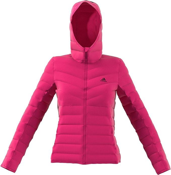adidas Damen Daunenjacke Varilite Soft Pink: Amazon.de ...