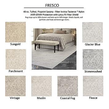 Amazon.com: SAMPLE (Unbound) Coastal Fog - FRESCO - Custom Carpet ...