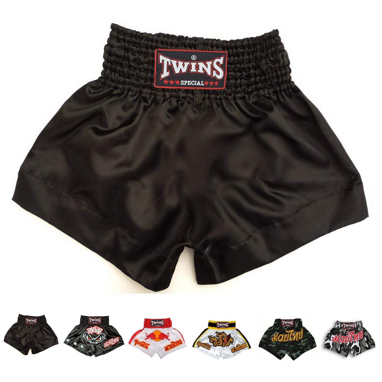 Twins Special Muay Thai Boxing Shorts B00LN0AYCK Medium|無地 ブラック 無地 ブラック Medium