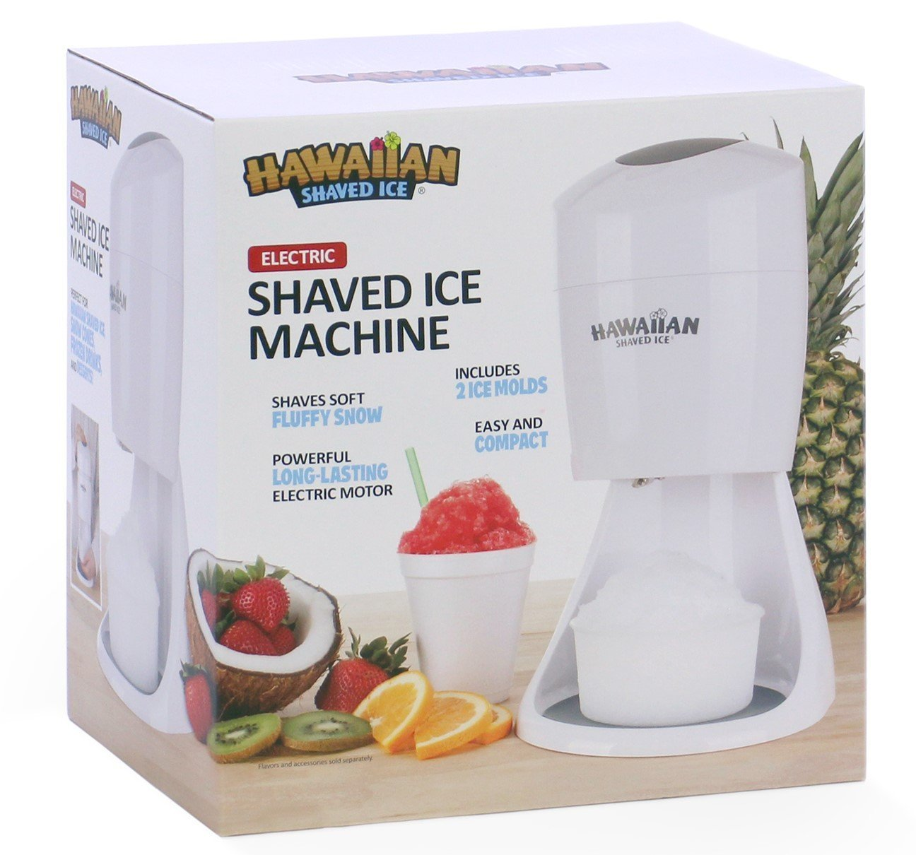 Hawaiian Shaved Ice S900A Shaved Ice and Snow Cone Machine, White by Hawaiian Shaved Ice