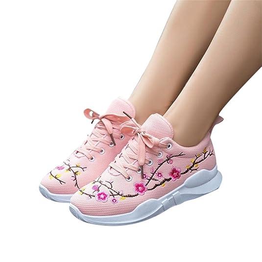 Amazon.com | Feilongzaitianba Women Shoes Lace-Up Wedges Shoes Women Zapatos Platform Shoes Woman | Fashion Sneakers