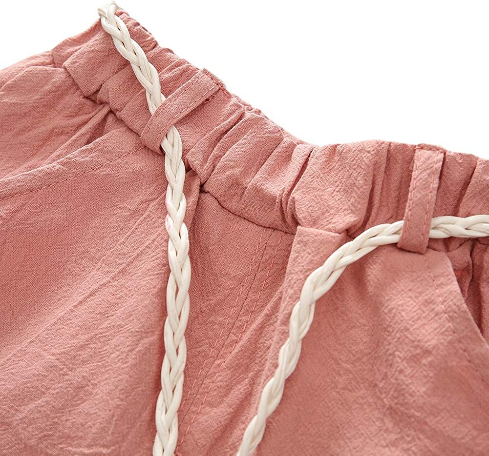EEFRVDFFDE Children Girls Shorts Sets Watermelon Print Short Sleeve T-Shirt+Shorts Suits 2Pcs Costume Set