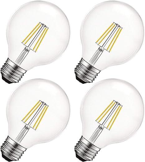 Filament LED Reading Light Glass Car Width Light Lamp Bright