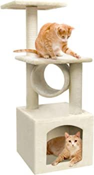Beau Jardin 36 Inch Cat Tree Condo Furniture Scratcher