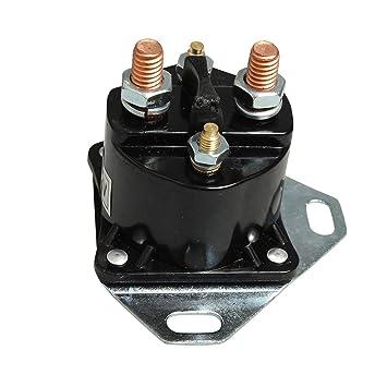 Bujía de Incandescencia glowplug relé solenoide Negro para Ford 7.3L POWERSTROKE Diesel: Amazon.es: Coche y moto