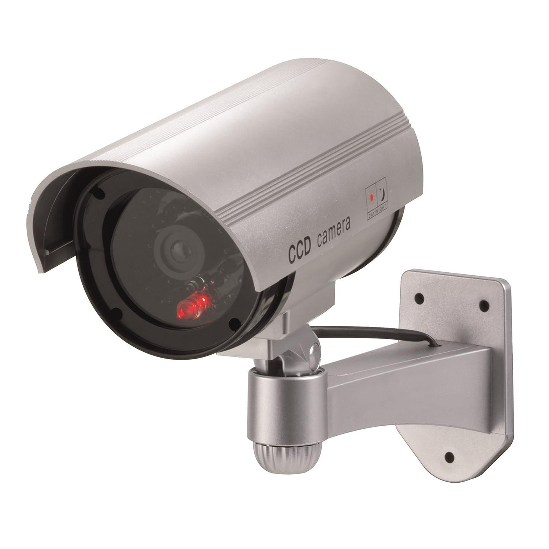 Xavax 00111993 Plata Bala cámara de seguridad ficticia - Cámaras de seguridad ficticias (Bala, Exterior, Plata, De plástico, AA): Amazon.es: Bricolaje y ...