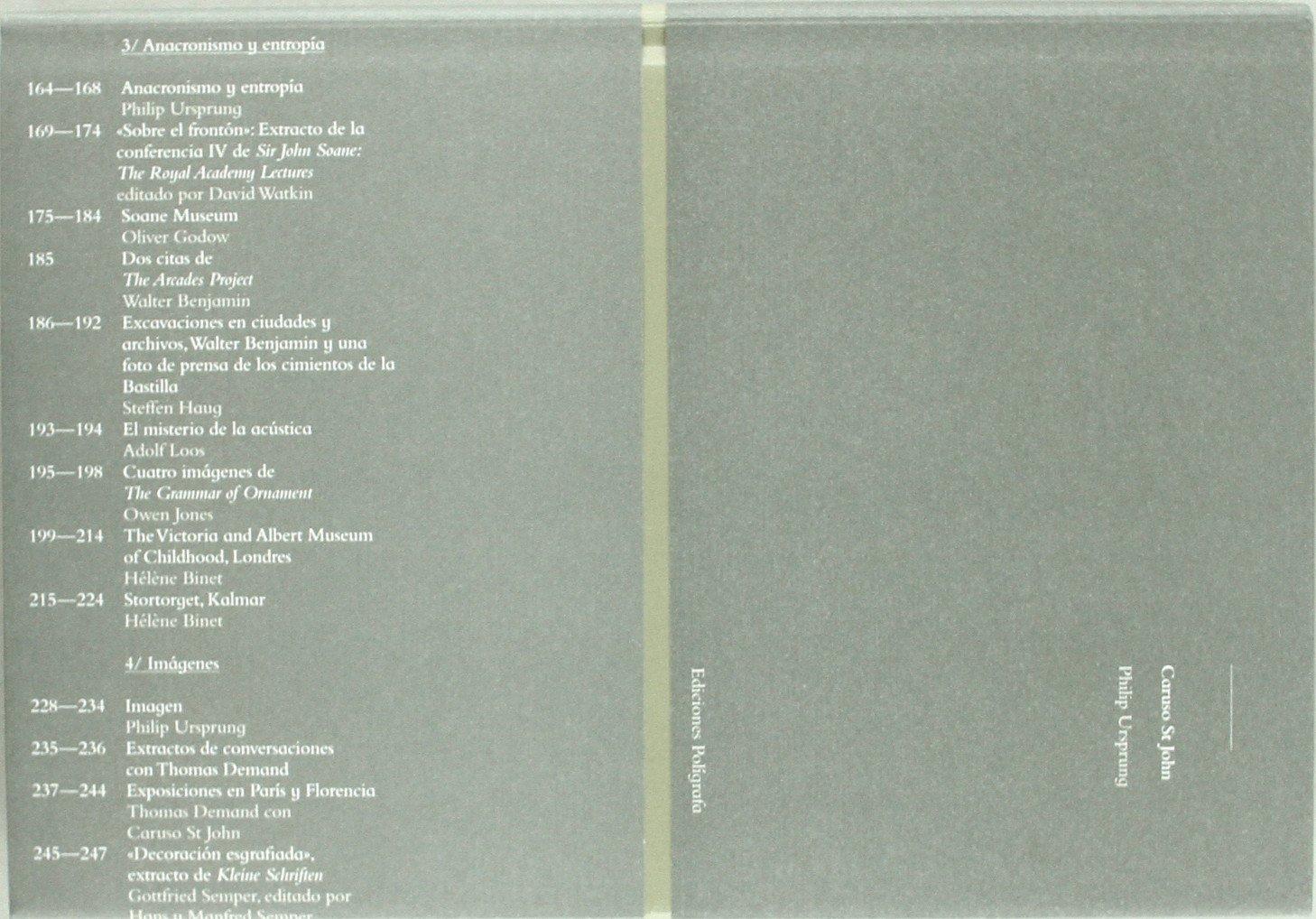 Caruso St John (arquitectura moderna y contemporánea) Tapa dura – Ilustrado, 1 jul 2011 Philip Ursprung EDICIONES POLÍGRAFA 8434311690 Criticism