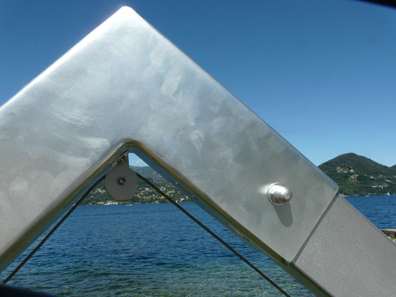 Ampelschirm FIBRASOL SILVER spinndüsengefärbtes Acryl ...