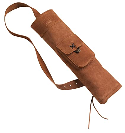 Compound Sporting Goods Suede Leather Back Quiver
