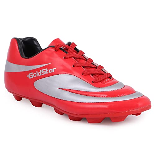 Buy GoldStar Red Color Football Shoes