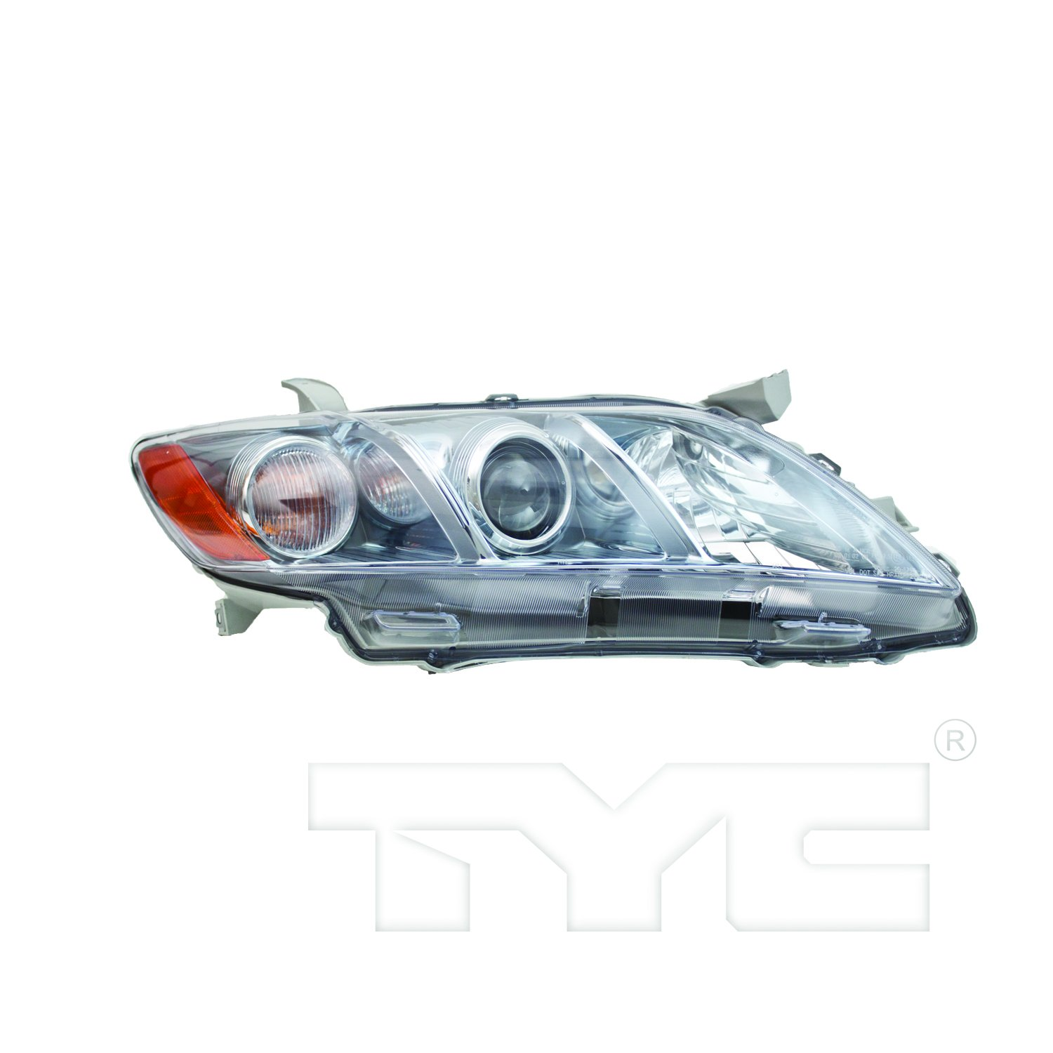 TYC 20-6758-80-1 Toyota Camry Left Replacement Head Lamp