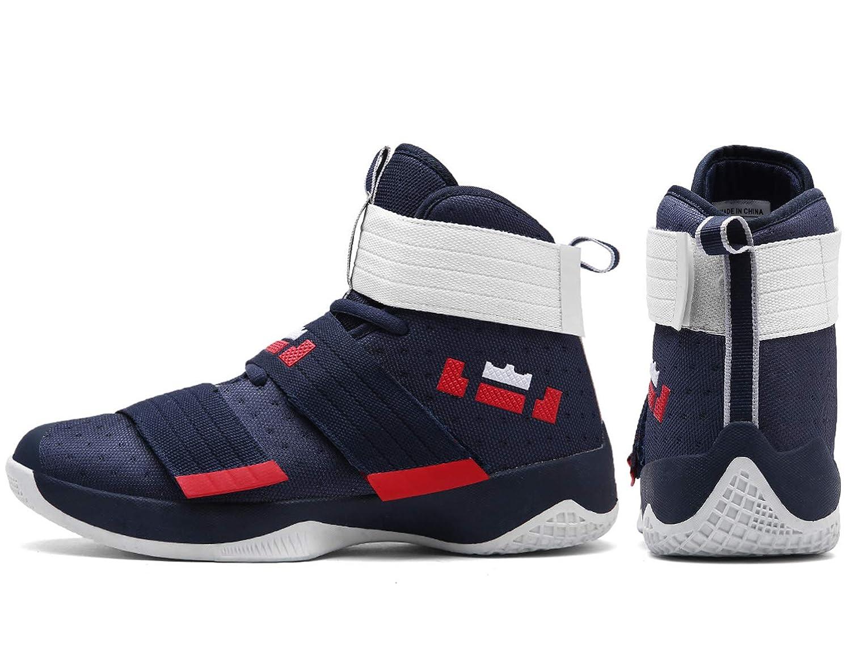 b8765ac30d93e Schuhe SINOES Unisex Basketball Schuhe Outdoor Anti-Rutsch Sneaker High-Top  Sportschuhe Laufeschuhe Atmungsaktiv Ausbildung Turnschuhe ...