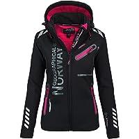 Geographical Norway DREAMY LADY - Waterdichte Softshell jas voor dames - Outdoor Hooded Jacket - Winter Winddicht Jas…
