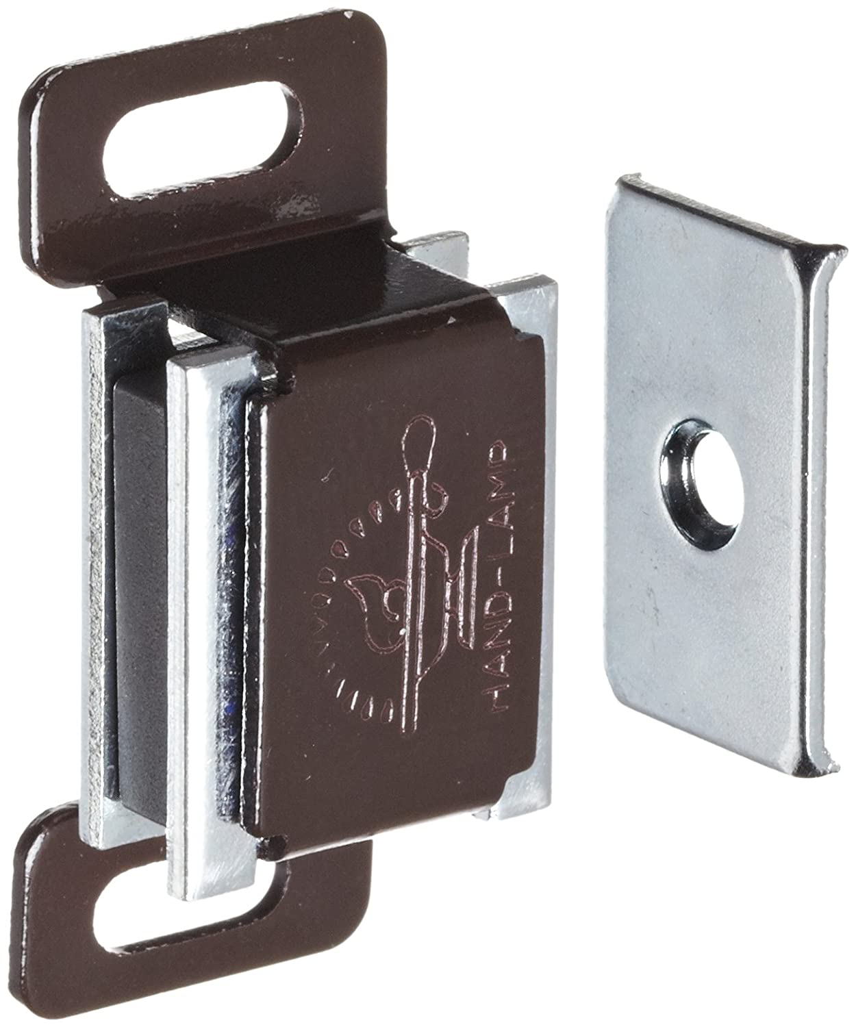 1-13//16 Length 19//32 Height 3.3lbs Pull Power Pack of 5 53//64 Width Aluminum Surface Mount Magnetic Catch