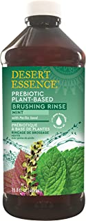 product image for Desert Essence Prebiotic Plant Based Brushing Rinse - Mint w/Perilla Seed - 15.8 Fl Oz - Promotes Minty Fresh & Clean Breath - Chicory Root - Tea Tree Oil - May Counteract Bad Breath