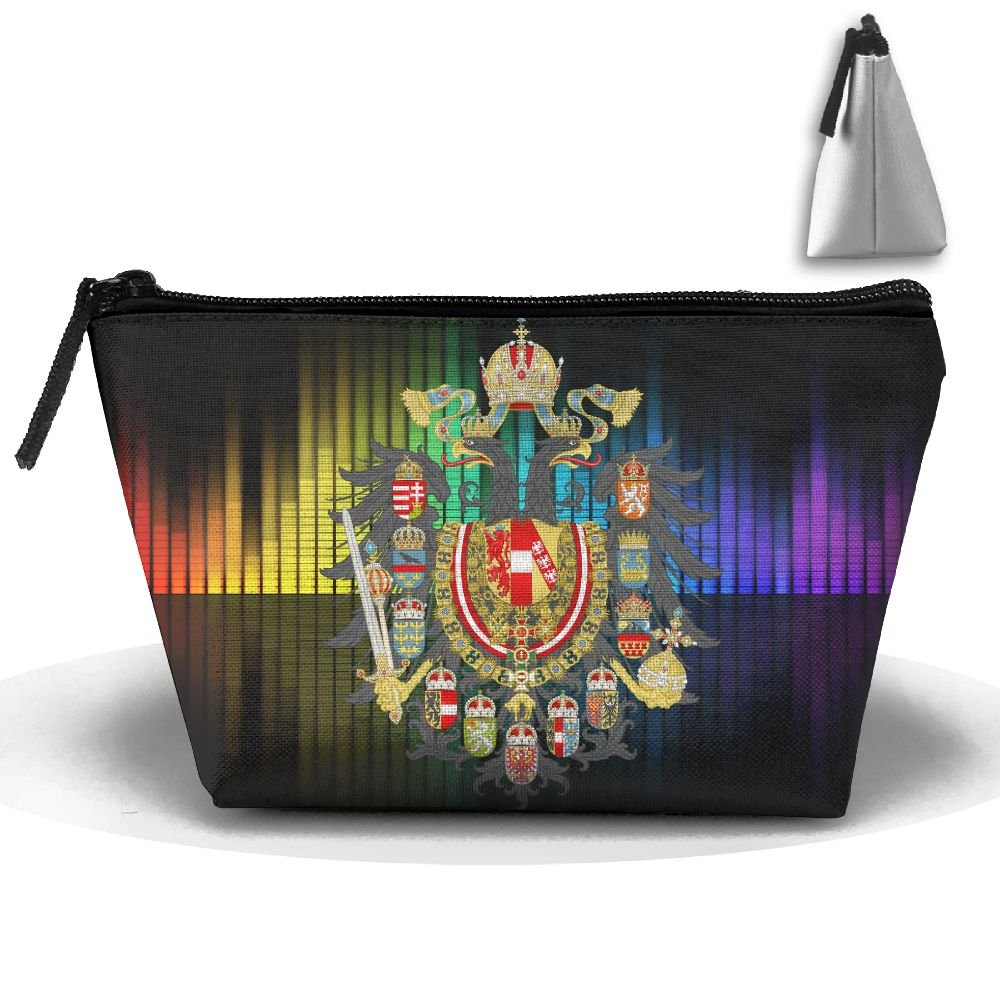 Simoner Coat Of Arms Of The Empire Of Austria Large Capacity Storage Bag Makeup Package Trapezoidal by Simoner (Image #1)