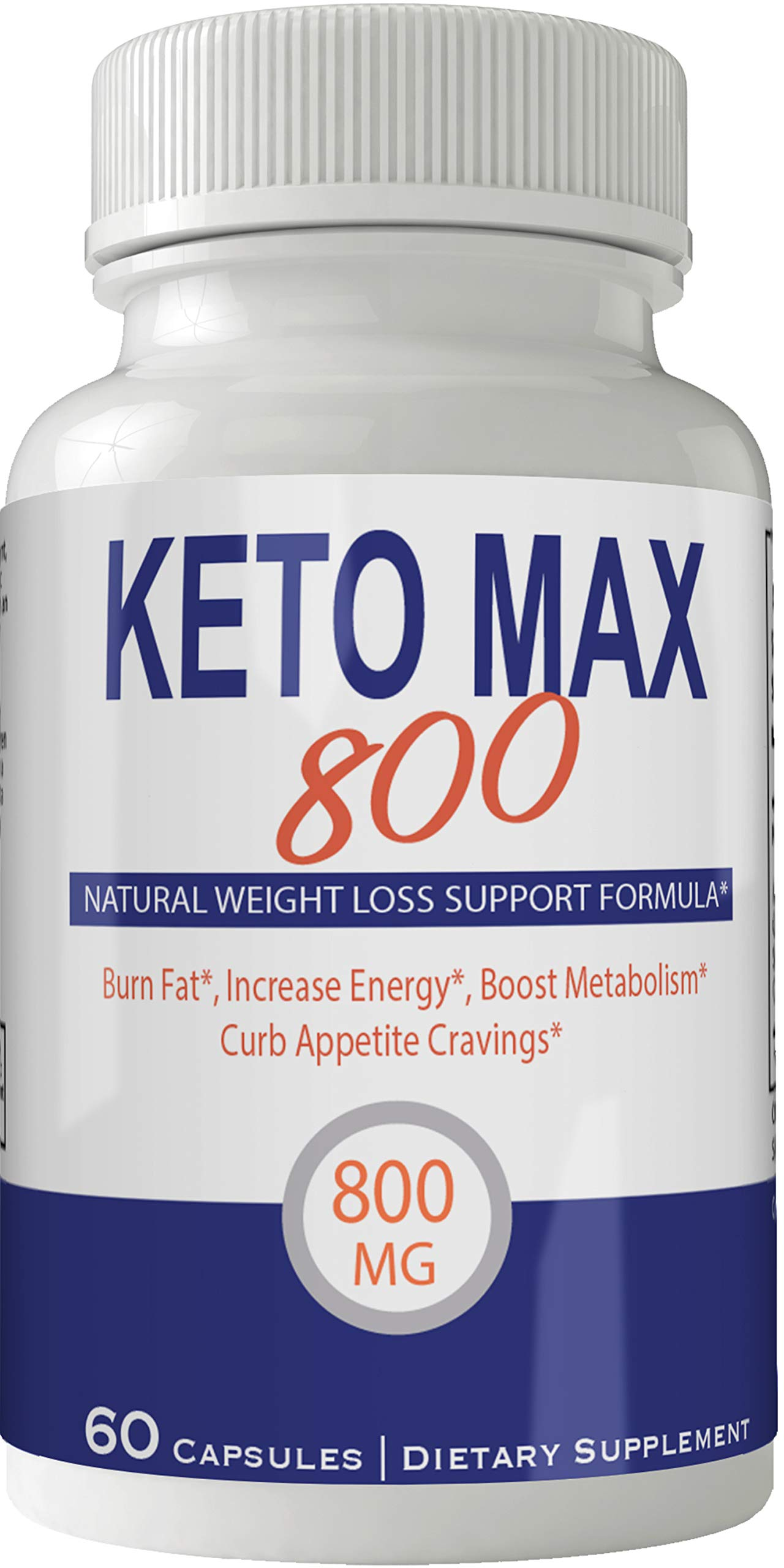 Keto Max 800 Pills Advance Weight Loss Supplement, Appetite Suppressant with Ultra Advanced Natural Ketogenic Capsules, 800 mg Fast Formula with BHB Salts Ketone Diet Boost Metabolism and Pulls Focus