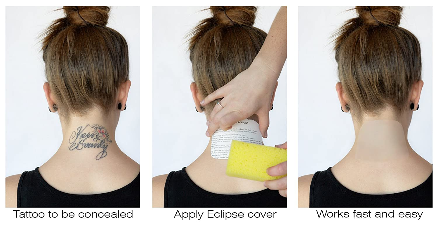 Amazon.com : Tatjacket Eclipse Temporary Tattoo Covers (COMBO PACK ...