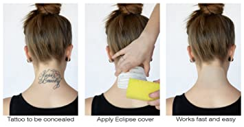 amazon com tatjacket eclipse temporary tattoo covers combo pack