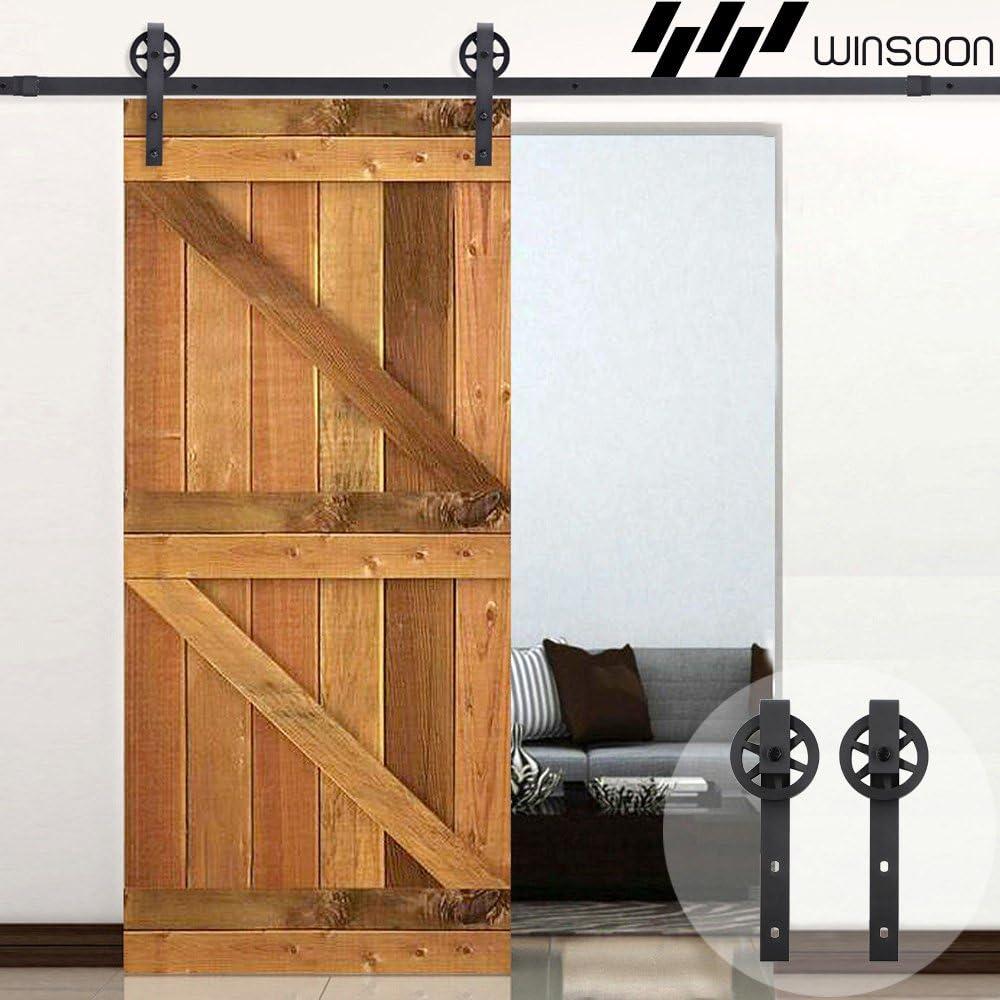 WINSOON Kit de puerta corredera para armario de ventana, mueble de TV, ganchos en forma de I: Amazon.es: Bricolaje y herramientas